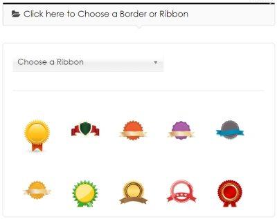 select ribbon