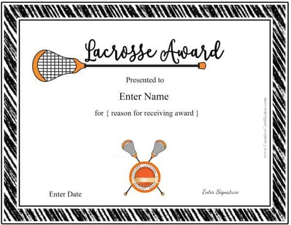 Lacrosse award