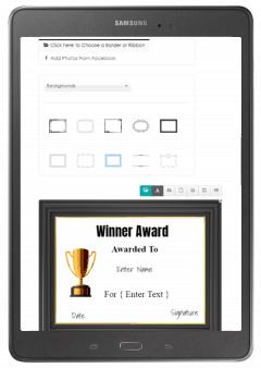 award certificate maker