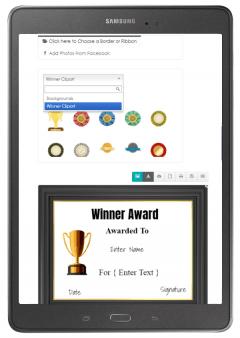 award maker