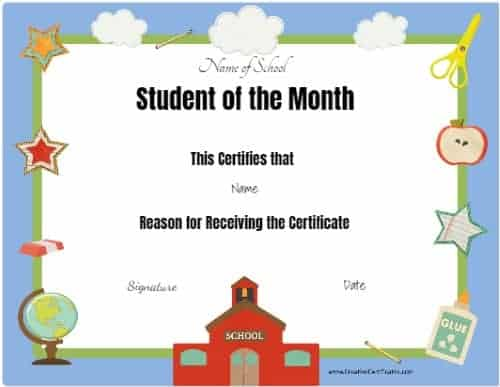 Editable and printable school template