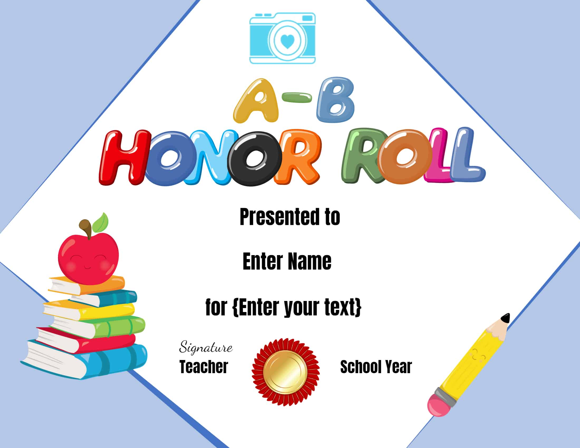 FREE Honor Roll Certificate Templates - Customize Online For Running Certificates Templates Free