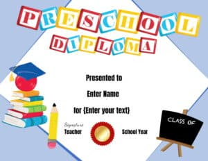 Preschool award