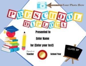 Preschool awards