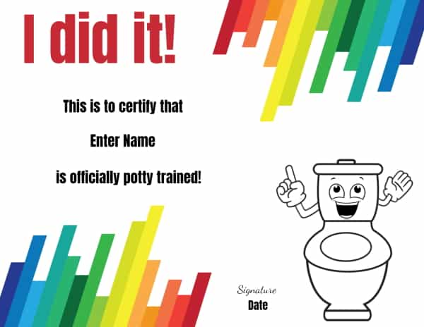 Potty award