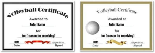 Volleyball awards ideas