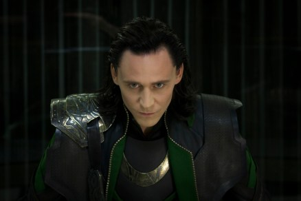Loki (Tom Hiddleston) in The Avengers (photo courtesy of phstars.com)