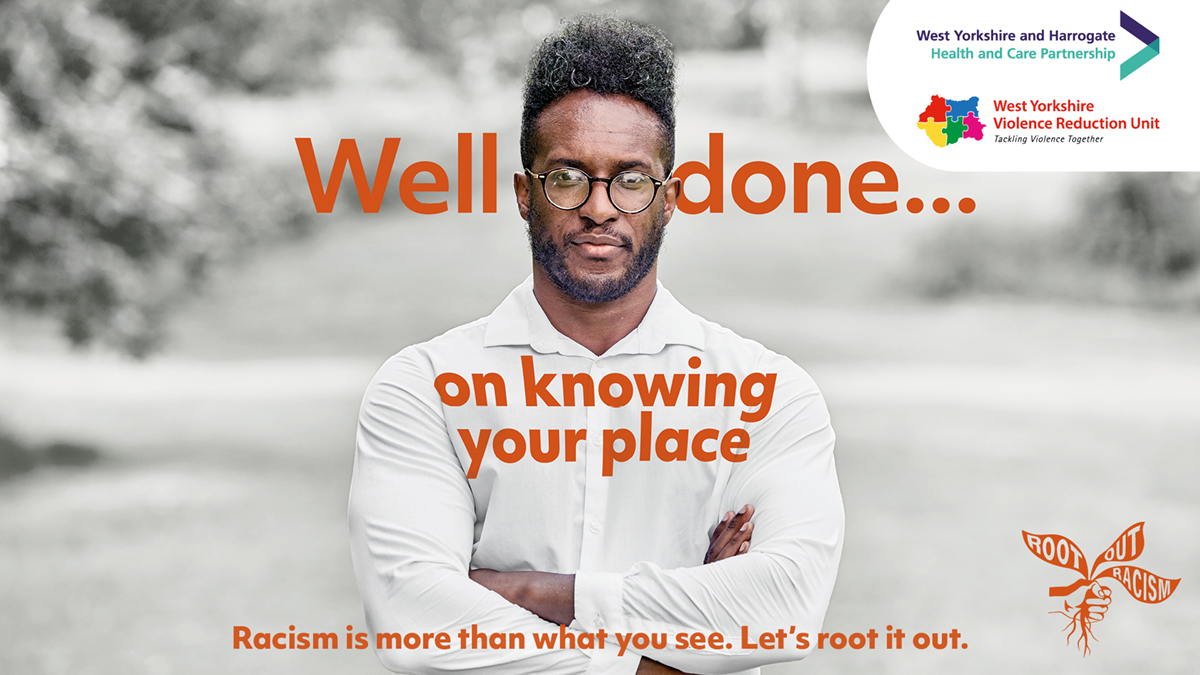 Root Out Racism Poster