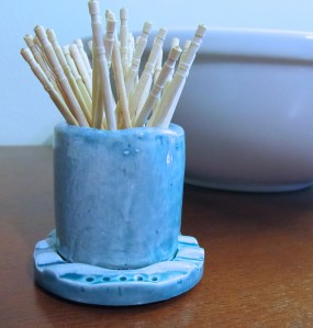 Toothpick or Cotton Swab Holder