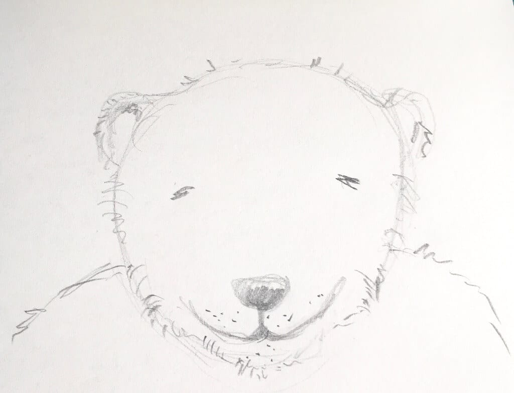 Poesie des Bleistifts: Der Bär Leopold