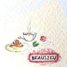 Das französische Cafe Beaulieu