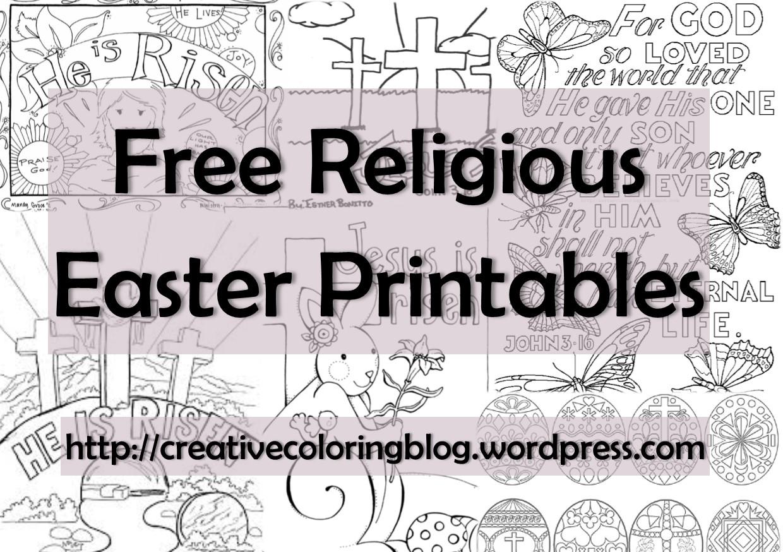 Free Religious Easter Printables