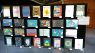 Student works on display