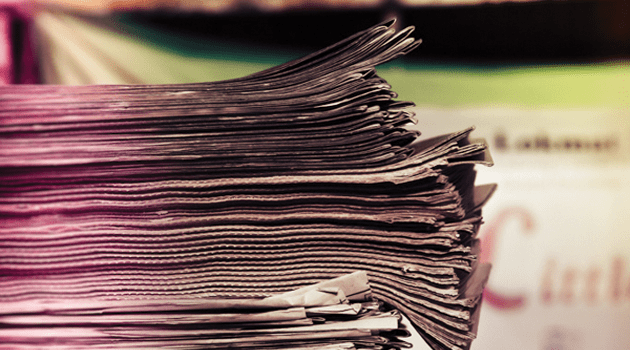 Photo: Stack of News Papers by ♥ Cishore™ - busy