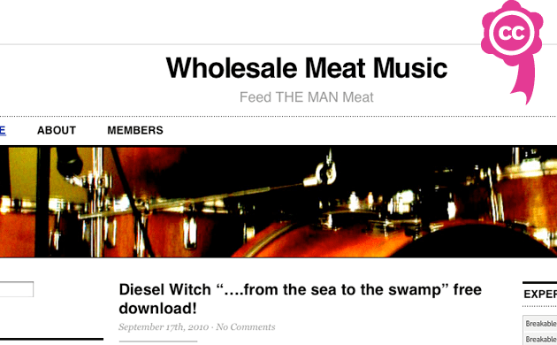CC Roadshow - projects - Wholesale Meat Music