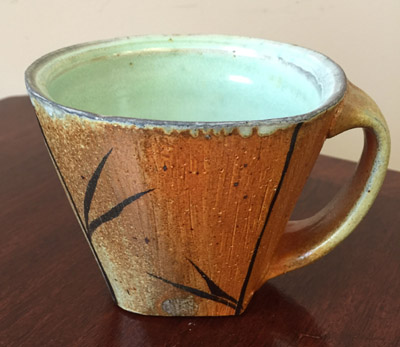 Mug by Matthew Gaddie, from the collection of Community Arts and Access Director Sarah Schmitt