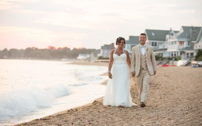 Real Shoreline Wedding: Val and Dom August 2016