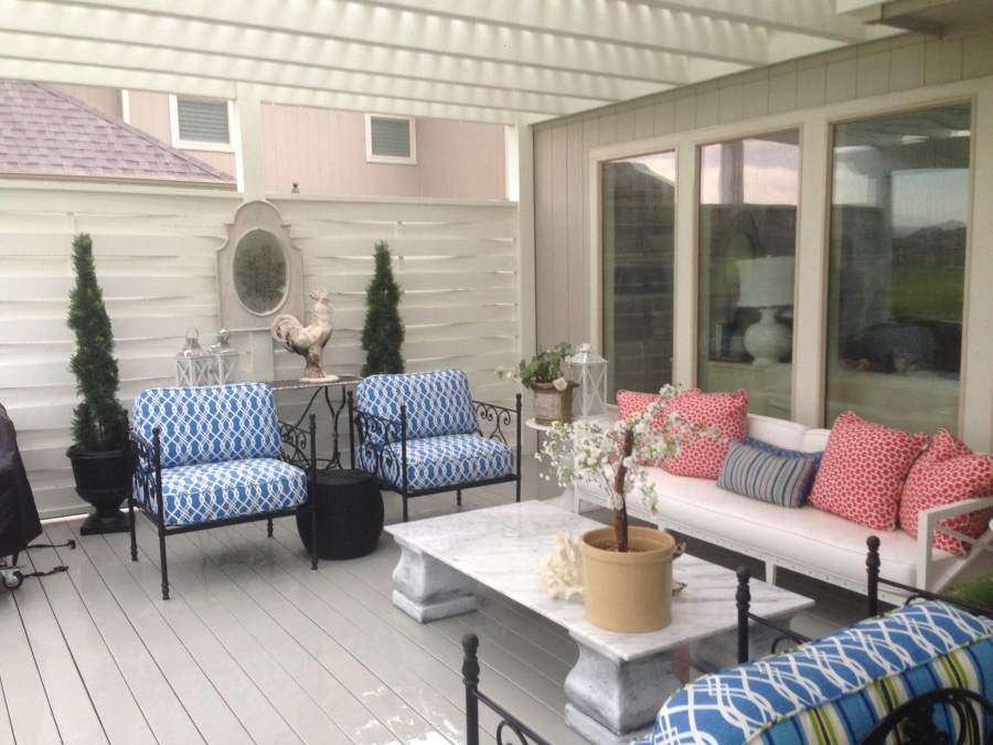 Tranquil Covered Deck