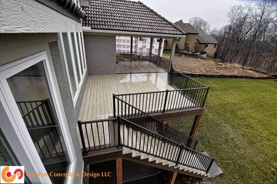 AZEK Hazelwood deck