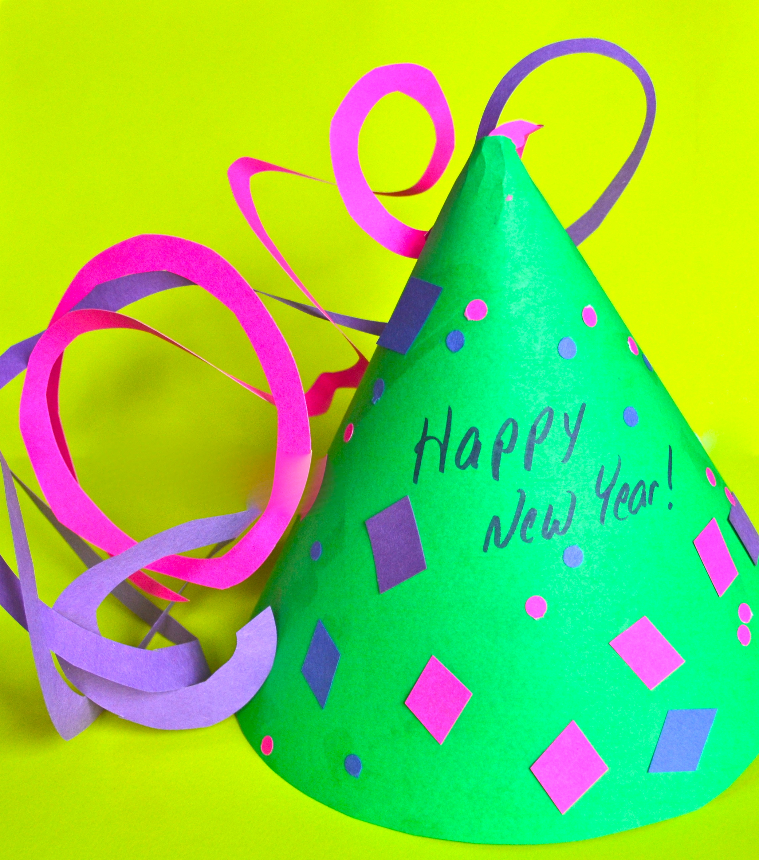 Diy New Years Party Hat