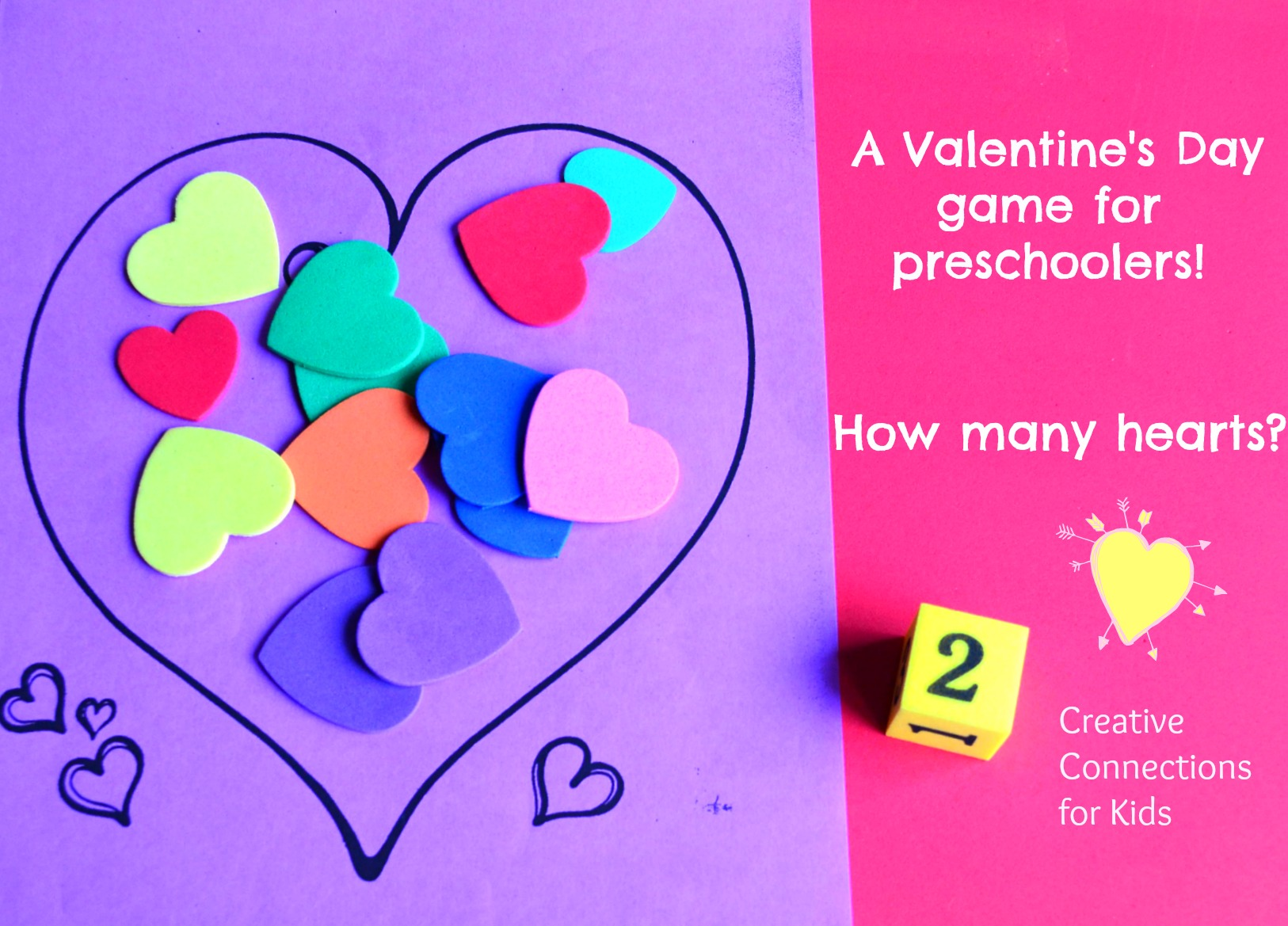 How Many Hearts A Valentine Math Game