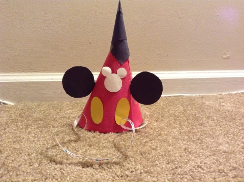 mickey mouse - kids party hats