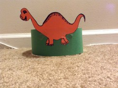 dinosaur - kids party hats