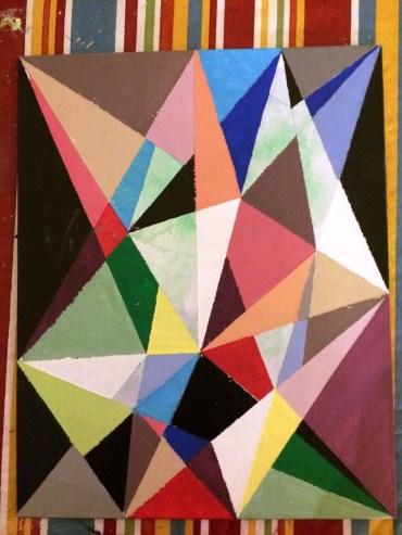 Geometric Painting 2