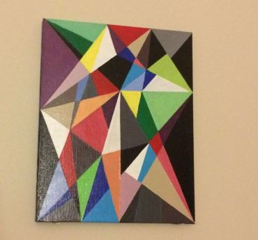 Geometric Painting 4