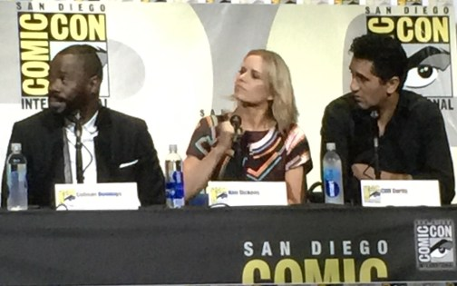 FTWD Colman Domingo, Kim Dickens and Cliff Curtis