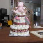 Baby Clothing Bouquets and Diaper Cakes