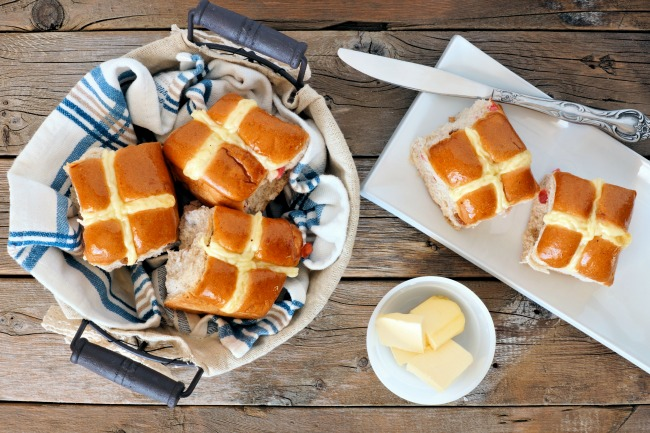 delicious london fog hot cross buns recipe