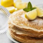 Meat Free Friday:  Lemon Ricotta Pancakes