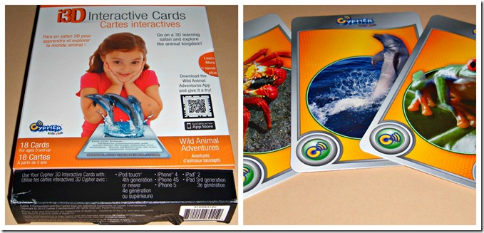 #CypherKidsClub Augmented Reality Learning Cards from CreativeCynchronicity.com