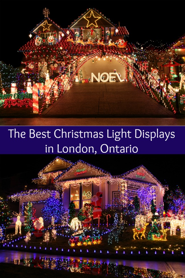 best christmas light displays london ontario