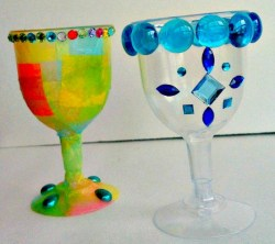 How to make DIY Kiddush, Elijah, and Miriam Cups for Passover