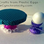Easter Plastic Egg Crafts: Video Tutorial
