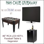 Man Cave Giveaway - enter at CreativeCynchronicity.com