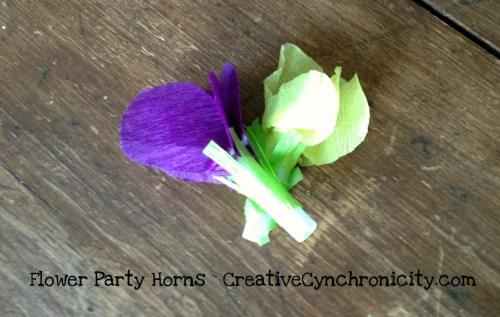 Easy to Make Party Horns - CreativeCynchronicity.com