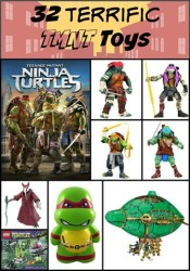 32 Teenage Mutant Ninja Turtle Toys – Holiday Gift Guide