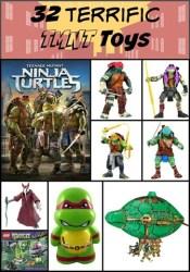 32 Teenage Mutant Ninja Turtle Toys – Holiday Gift Guide