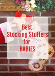 best stocking stuffers for babies