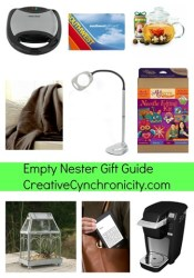 Holiday Gift Guide for the Empty Nester