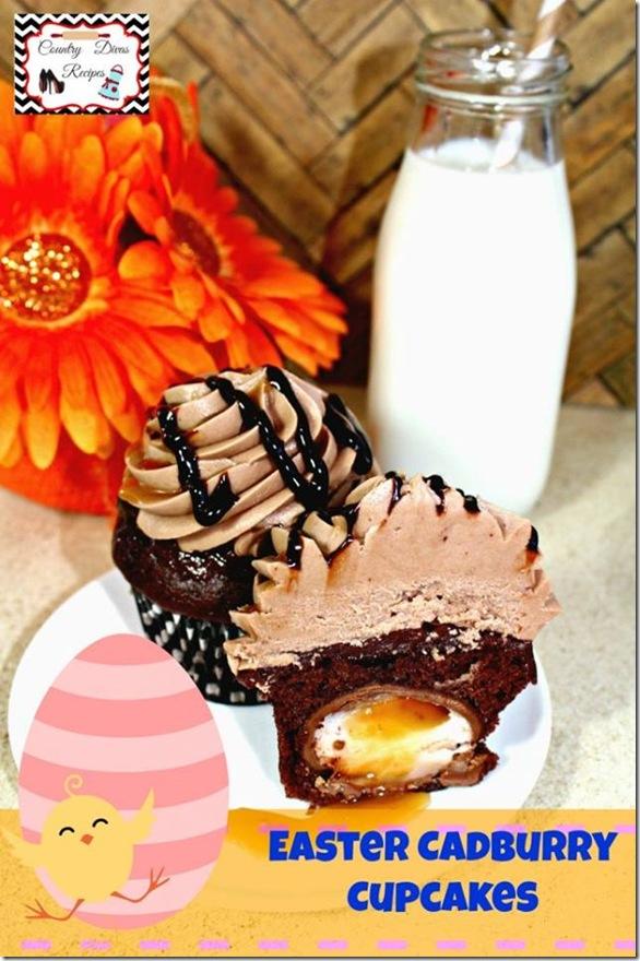 Easter Cadbury Cupcakes