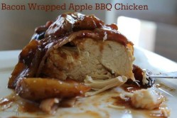 Bacon Wrapped BBQ Apple Chicken {12 Days of BBQ and Picnic Ideas}