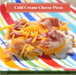 Cold Cream Cheese Pizza {12 Days of BBQ and Picnic Ideas}