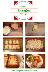 Simple Lasagna Roll Ups {12 Days of Bloggers' Favorite Recipes}