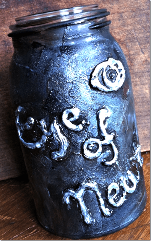 Quick and Easy Halloween Specimen Jar or Potion Bottle Decoration