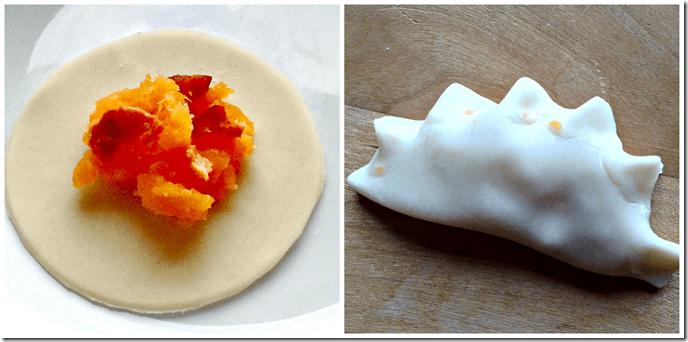 sweet potato apple pierogi