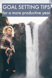 goal setting tips for a more productive year